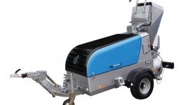 Screed Machine (with Skip & Scraper)